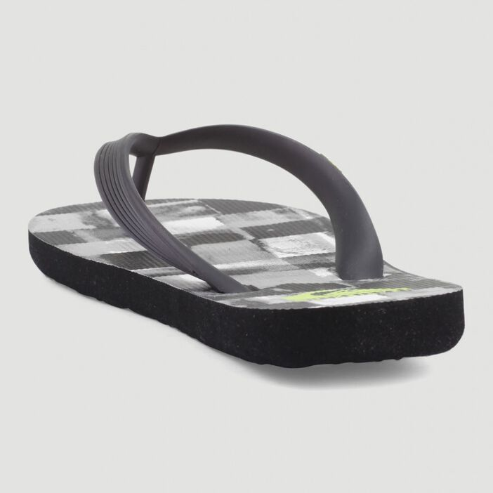 Tongs Quicksilver JAVA RESIN CHECK homme noir