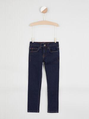 Jean skinny effet use denim brut garcon