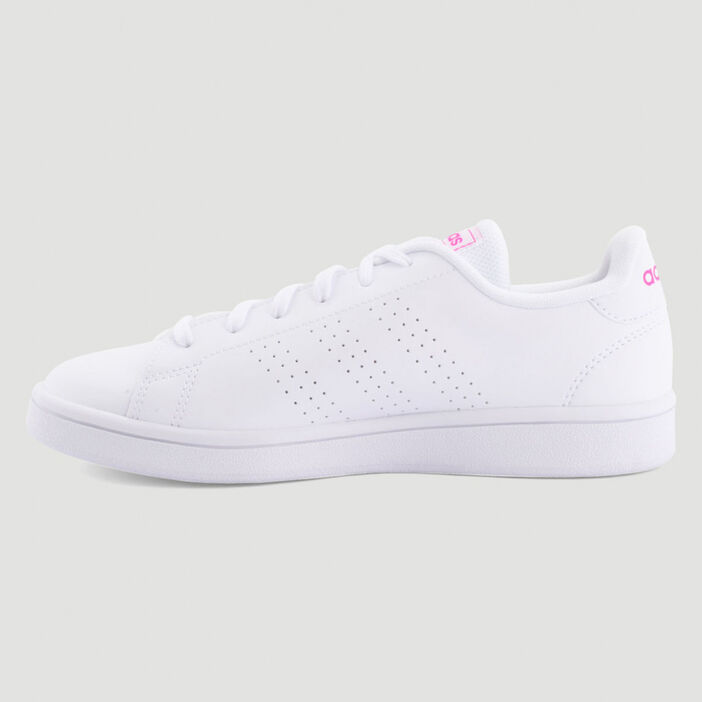 Tennis Adidas ADVANTAGE BASE femme blanc