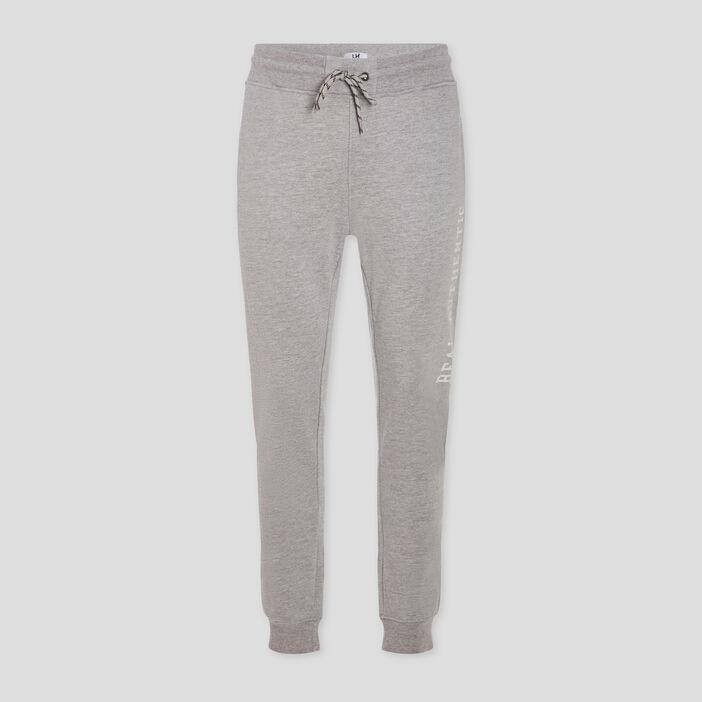 Pantalon de jogging droit homme gris