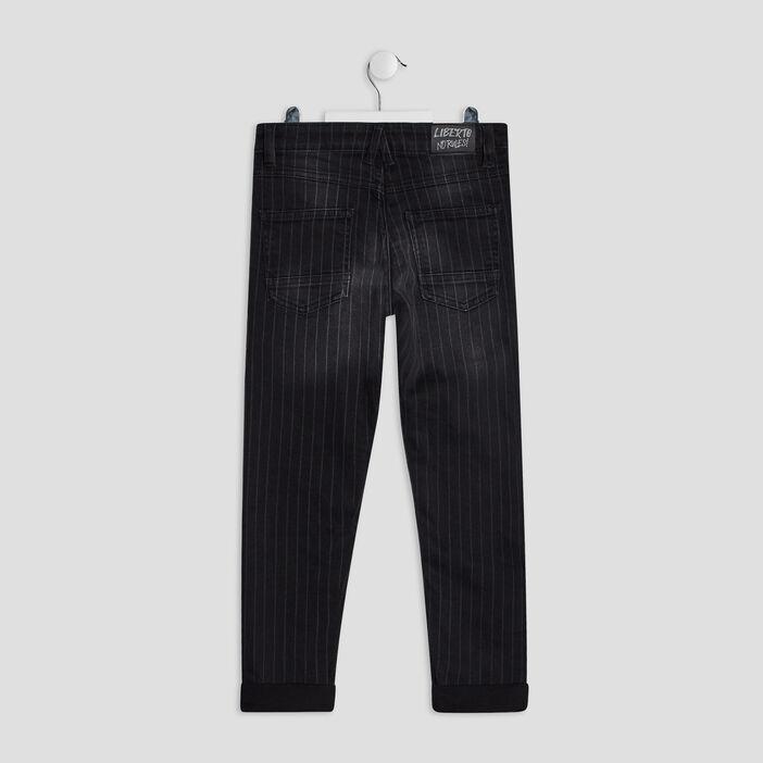 Jeans slim Liberto garçon noir