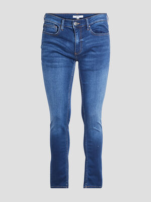 Jeans slim stretch denim double stone homme