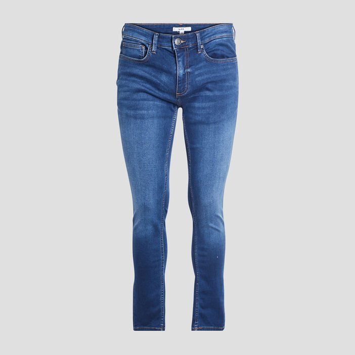 Jeans slim stretch homme denim double stone