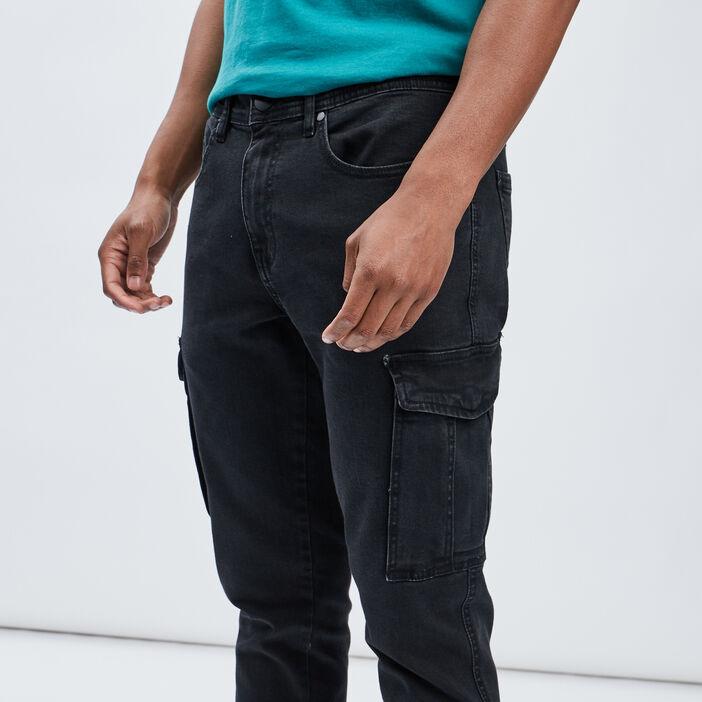 Jeans straight Liberto homme noir