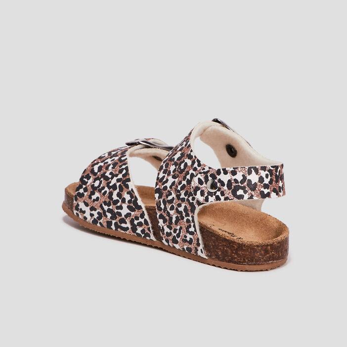 Sandales bébé fille multicolore