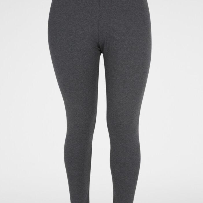 Legging long coton majoritaire femme gris foncé