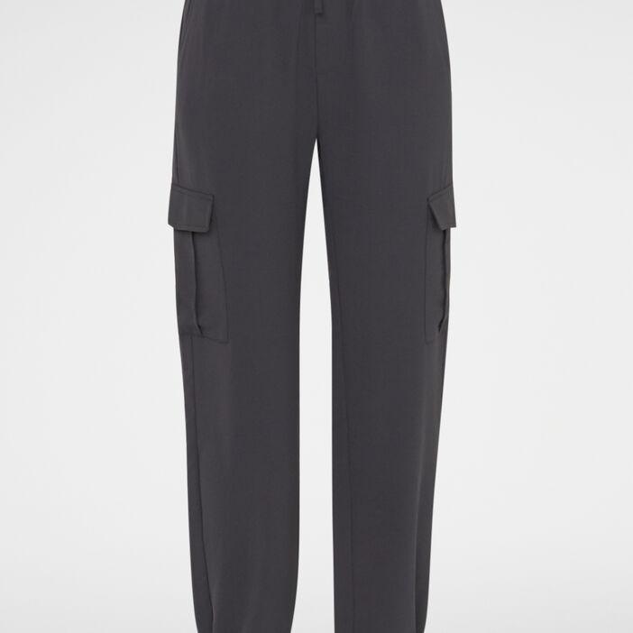 Pantalon battle  femme gris foncé
