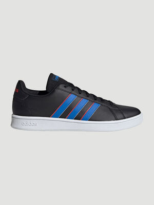 Tennis Adidas GRAND COURT BASE lacets noir homme