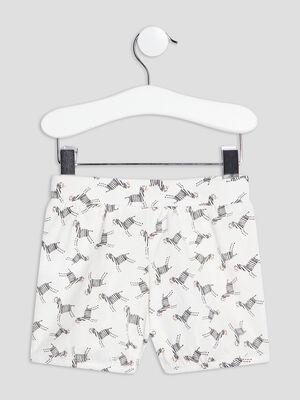 Lot 2 shorts droits rose bebef