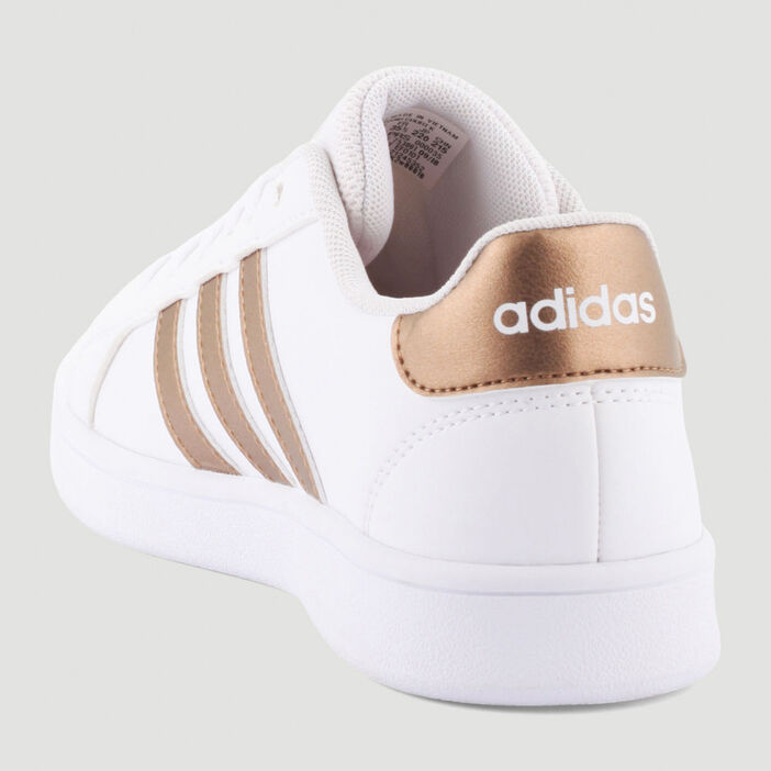 Tennis Adidas Grand Court fille blanc