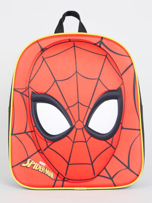 Sac a dos Spiderman 3D rouge garcon