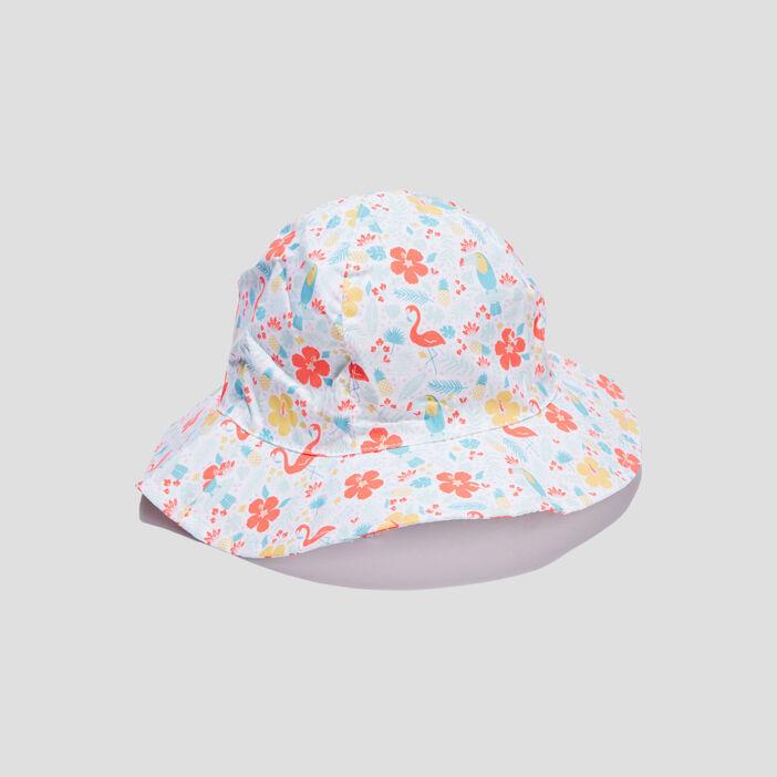Chapeau bébé fille blanc
