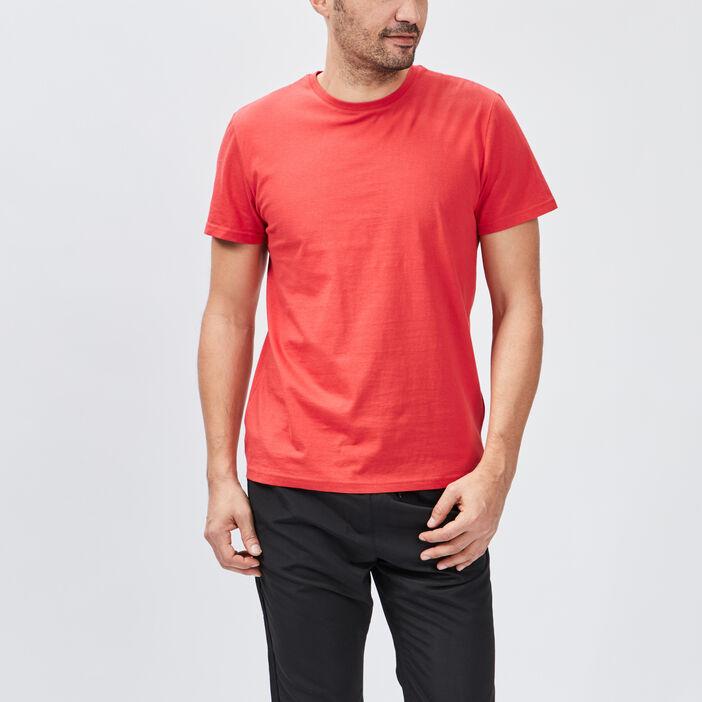 T-shirt manches courtes homme rouge