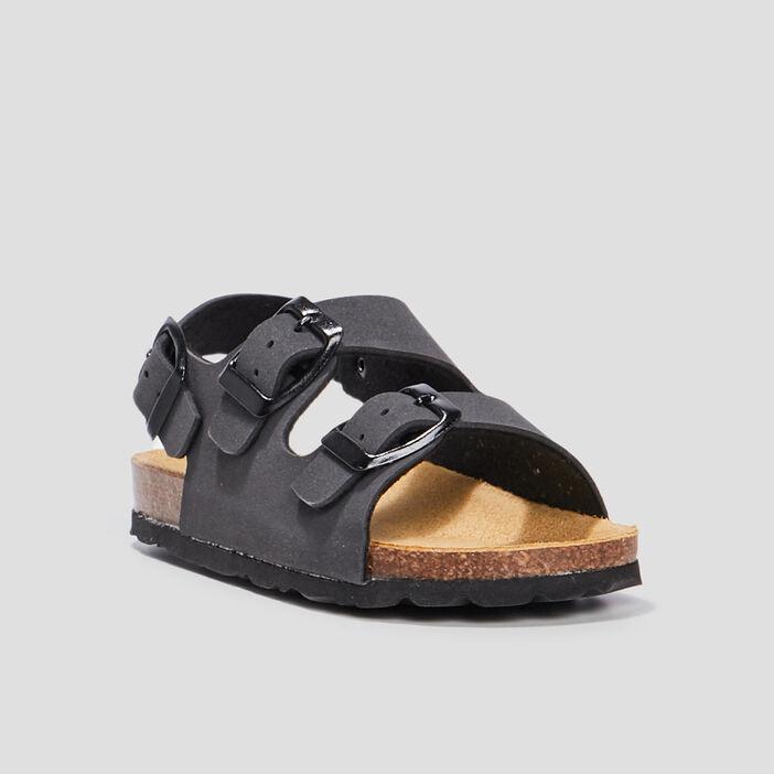 Sandales garçon gris