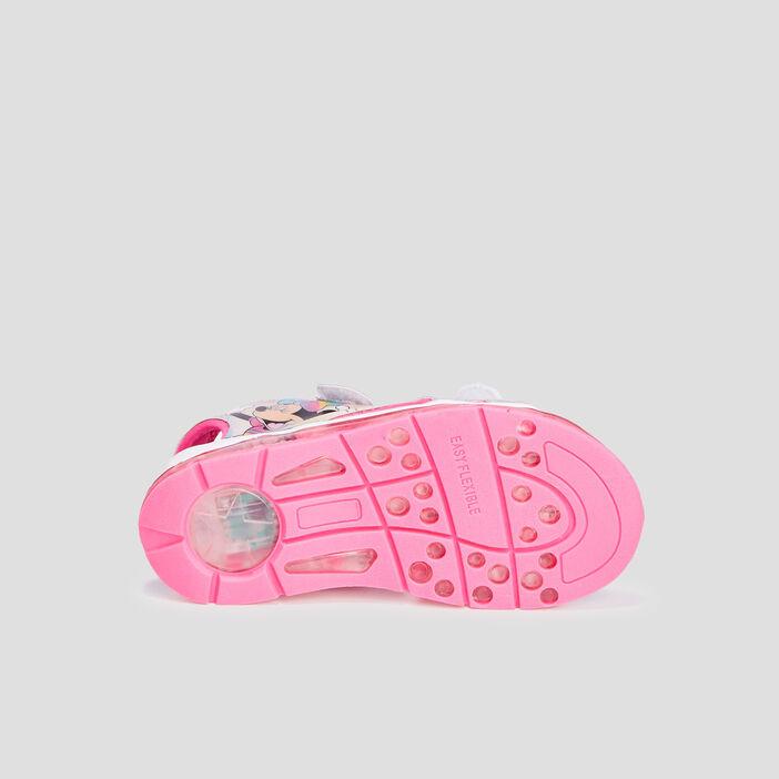 Sandales Minnie fille couleur argent