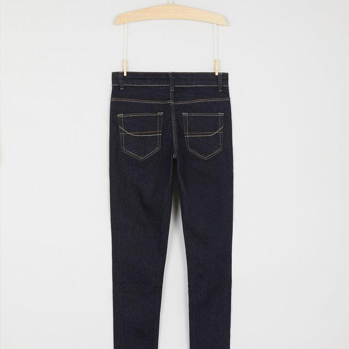 Jeans skinny garçon denim brut