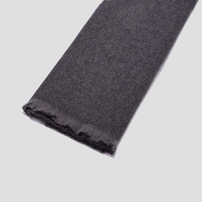 Écharpe homme gris