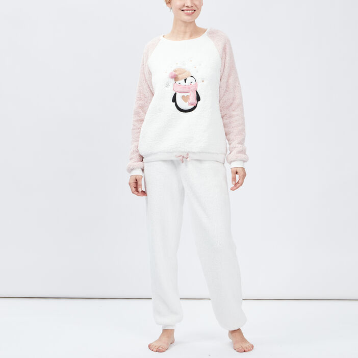 Ensemble pyjama femme rose
