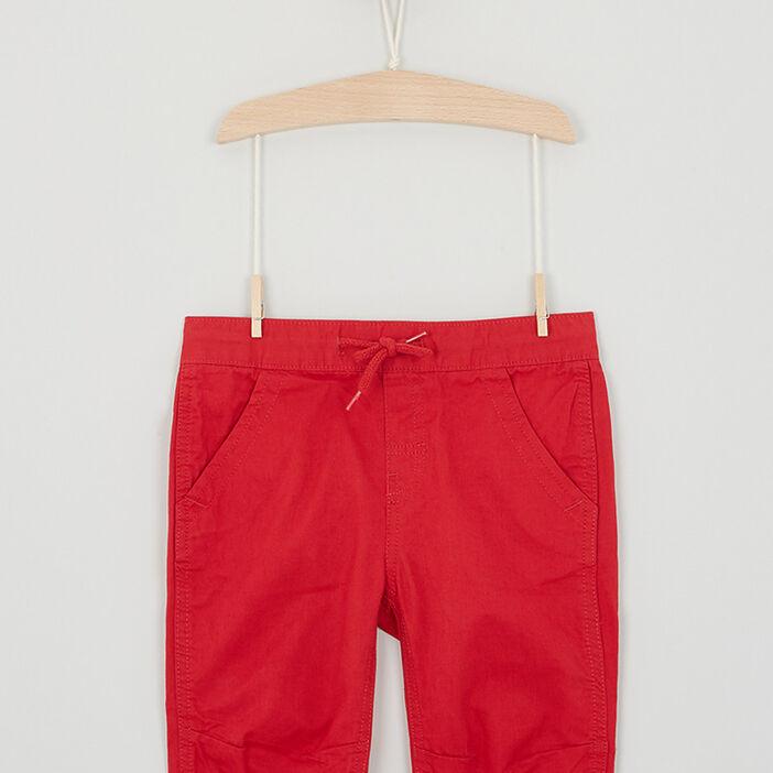 Short, Bermuda garçon rouge