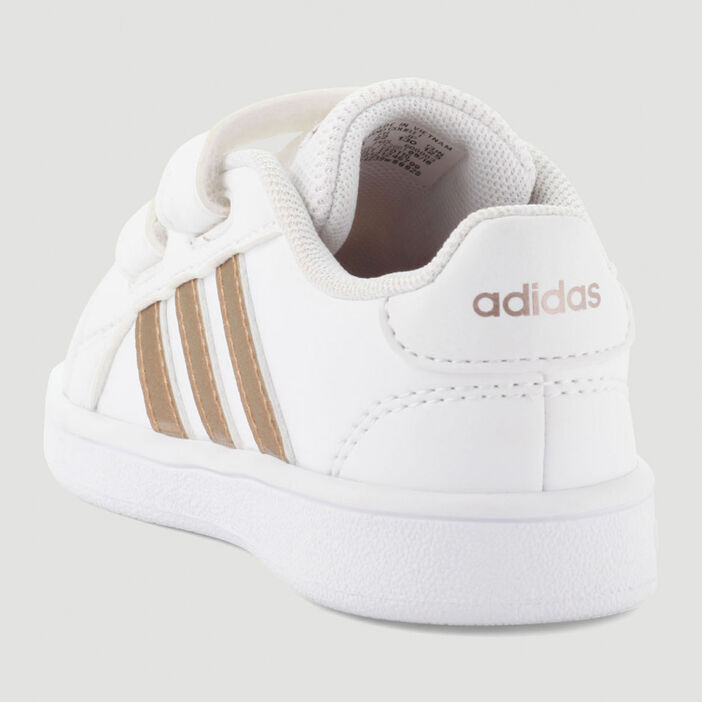 Tennis Adidas GRAND COURT fille blanc