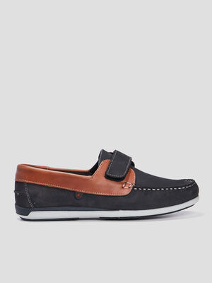 Derbies a scratch bleu homme