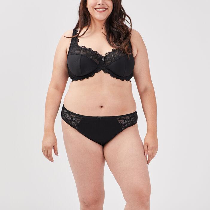 Culotte grande taille femme grande taille noir