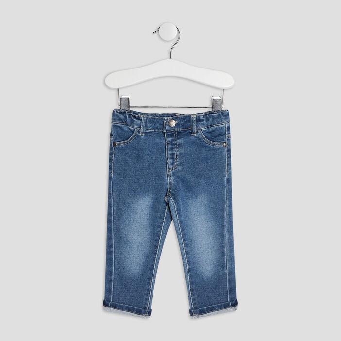 Jeans slim 4 poches bébé garçon denim brut