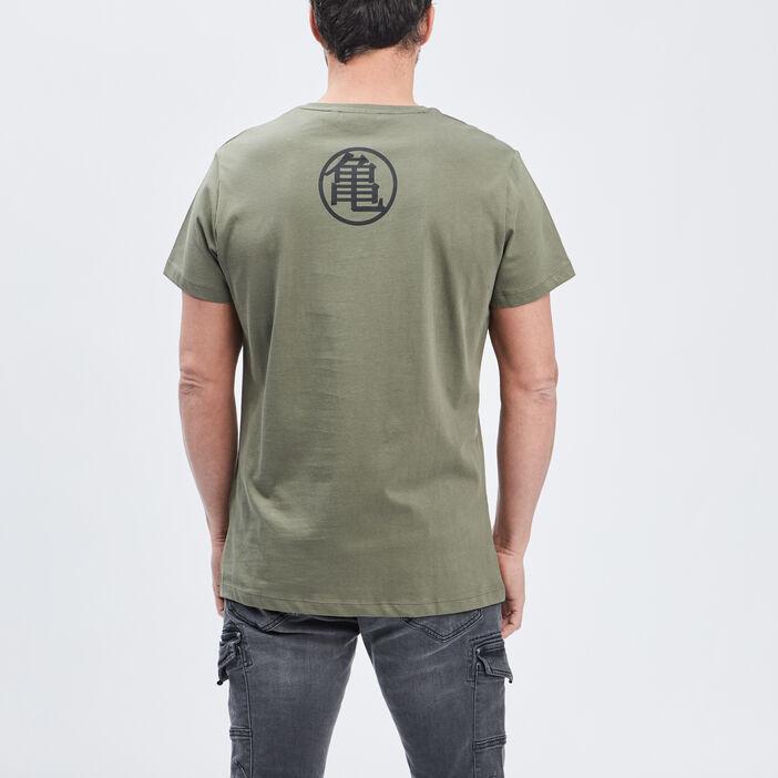 T-shirt Dragon Ball homme vert kaki