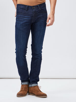 Jeans slim Creeks denim brut homme