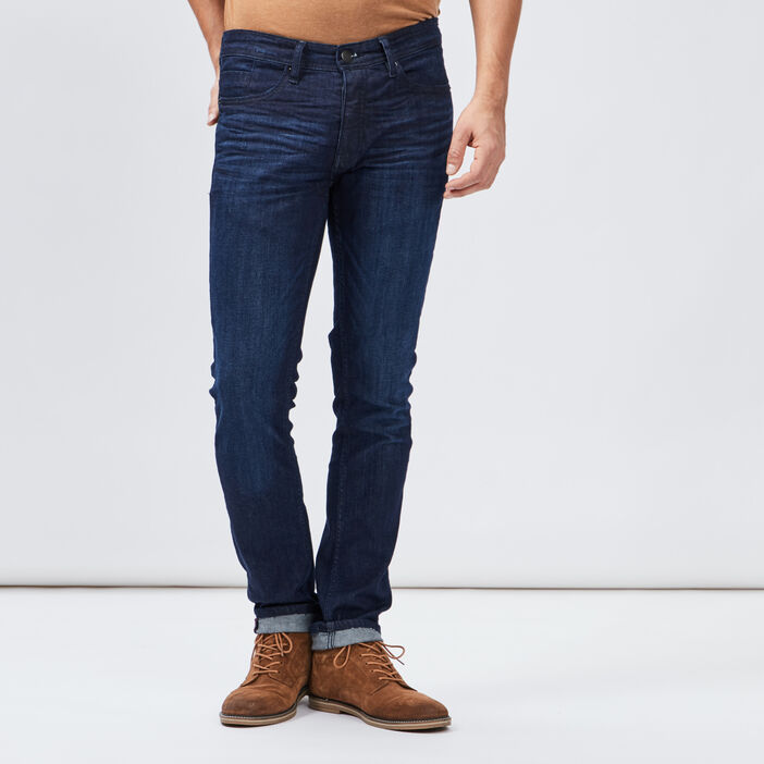 Jeans slim Creeks homme denim brut