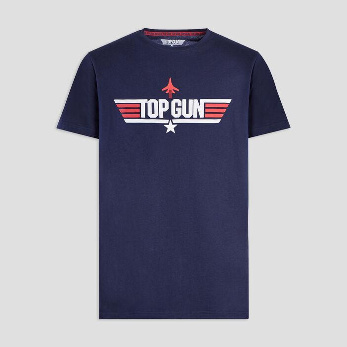T-shirt Top Gun homme bleu marine