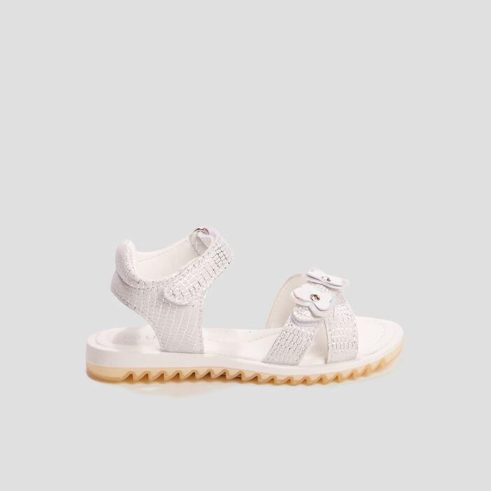 Sandales Liberto fille couleur argent