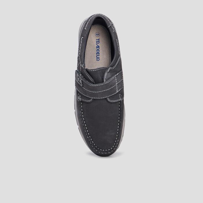 Chaussures bateau Trappeur homme bleu