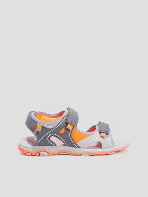 Sandales de sport Creeks gris garcon