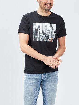T shirt Radiant noir homme