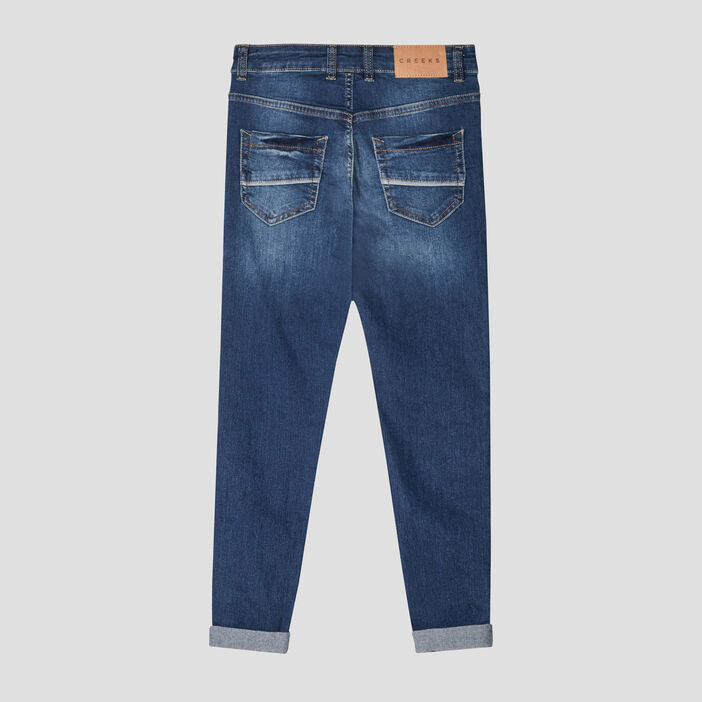 Jeans regular Creeks garçon denim double stone