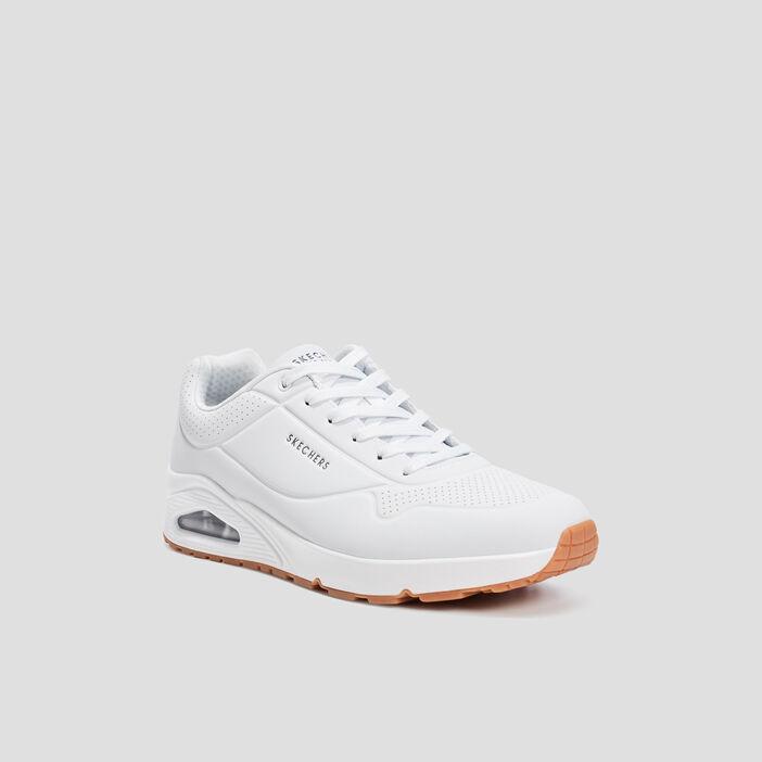 Runnings Skechers homme blanc
