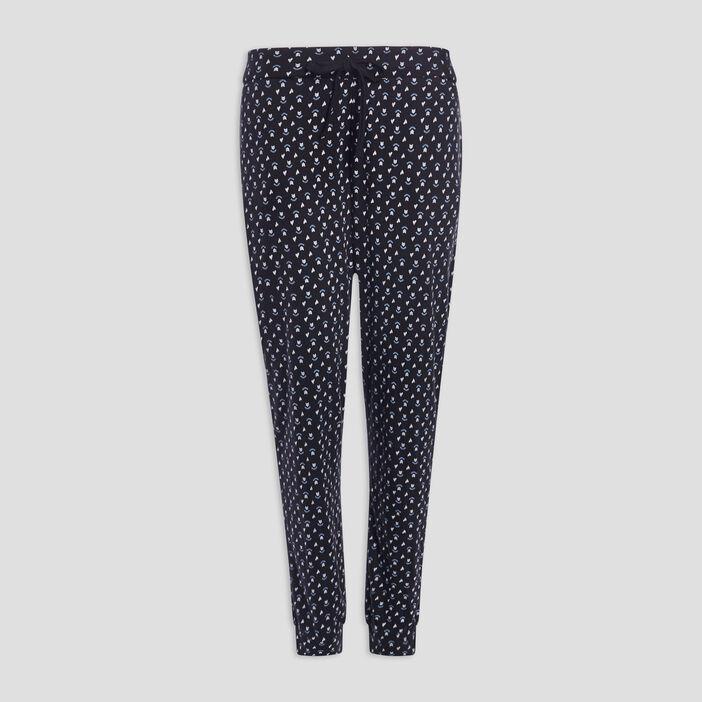 Pantalon de pyjama femme noir