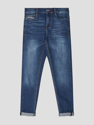 Jean denim double stone garcon