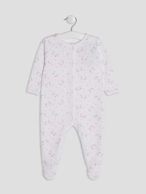 Dors bien imprime ouverture devant blanc bebe