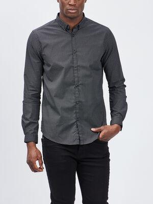 Chemise Yves Dorsey noir homme