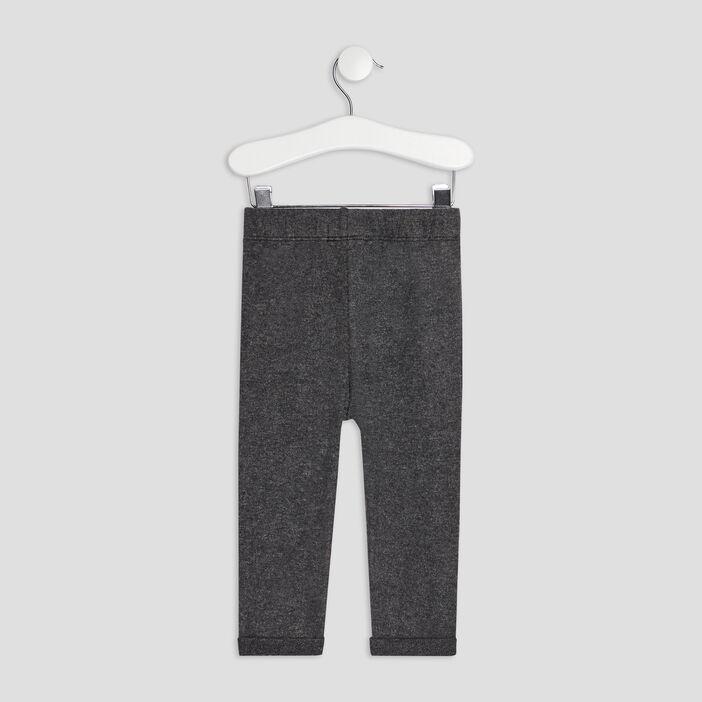 Pantalon jogging Creeks bébé fille gris