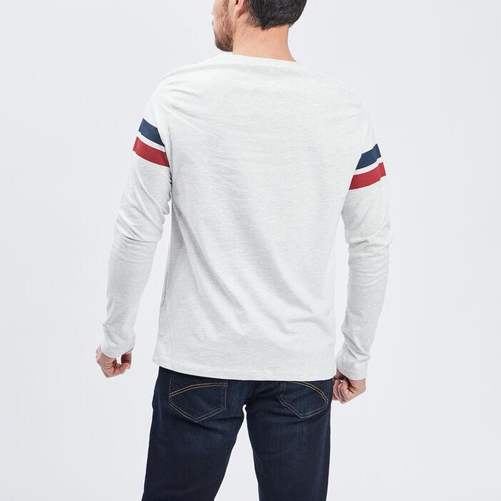 T-shirt manches longues Creeks homme gris