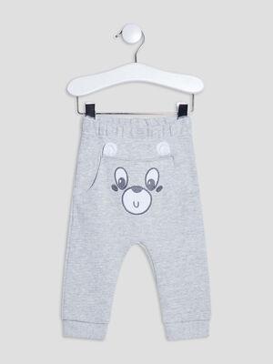 Pantalon de jogging gris bebeg