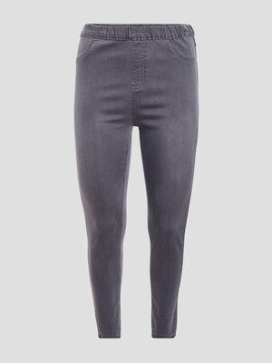 Pantalon jegging denim gris femmegt