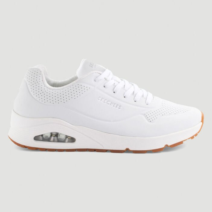 Runnings Skechers UNO homme blanc