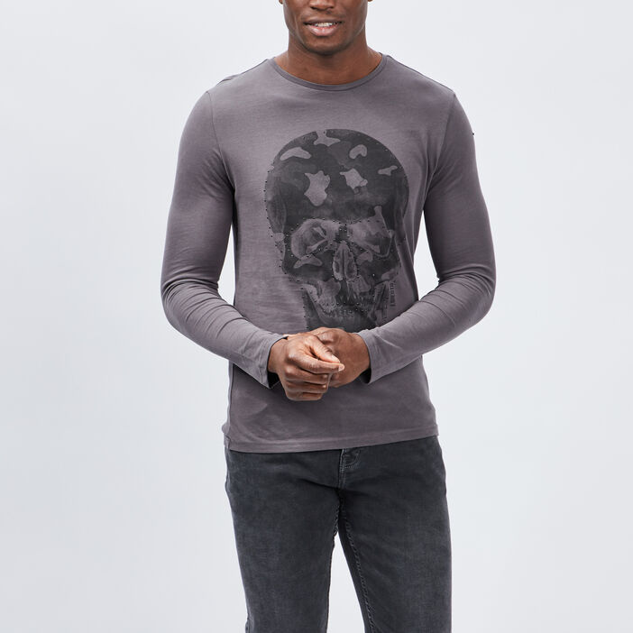T-shirt Liberto homme gris foncé