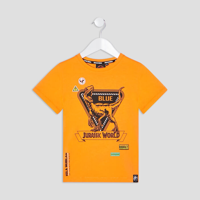 T-shirt Jurassic World garçon orange