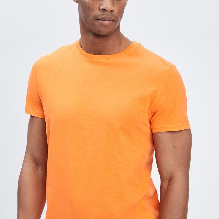 T-shirt manches courtes homme orange