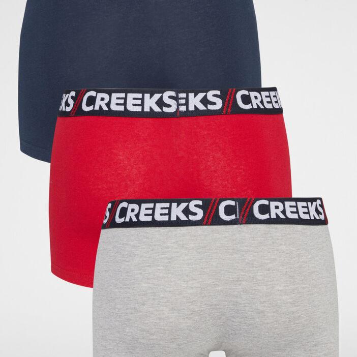 Lot 3 boxers Creeks homme multicolore